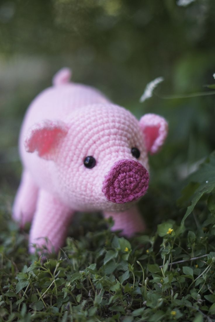 Pig Amigurumi CAL pattern by Brenna Eaves | Places ...