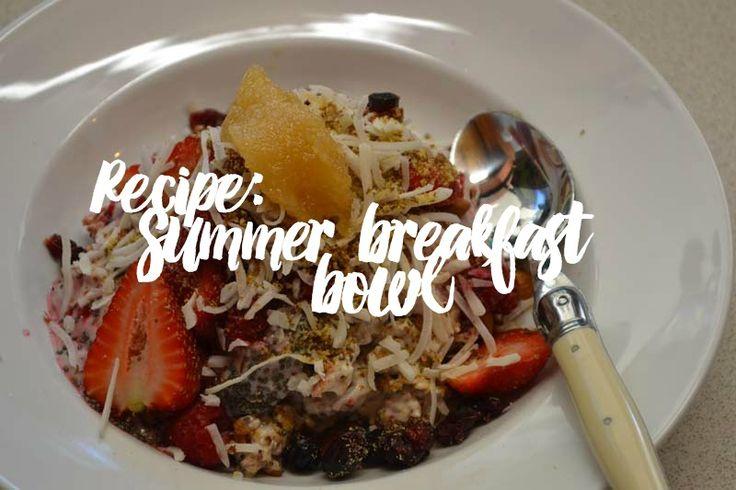 #recipe #blog #summer #breakfast #blogger #placeswego #foodie #foodtravel