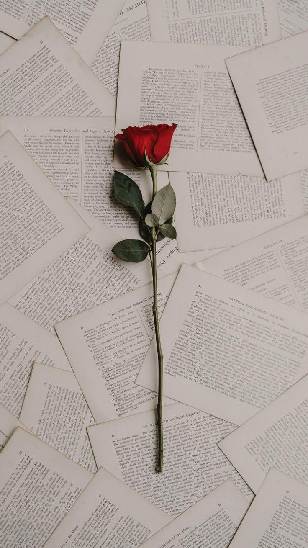 Rose Books Lockscreen Wallpaper Aesthetic Tumblr Beautiful Wallpapers Backgrounds Beautiful Wallpapers Flower Wallpaper