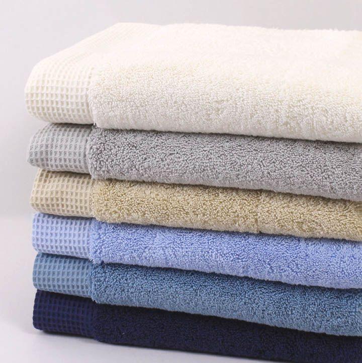 King of Cotton > Serviette En Coton 800 g/m² et Tapis de Bain