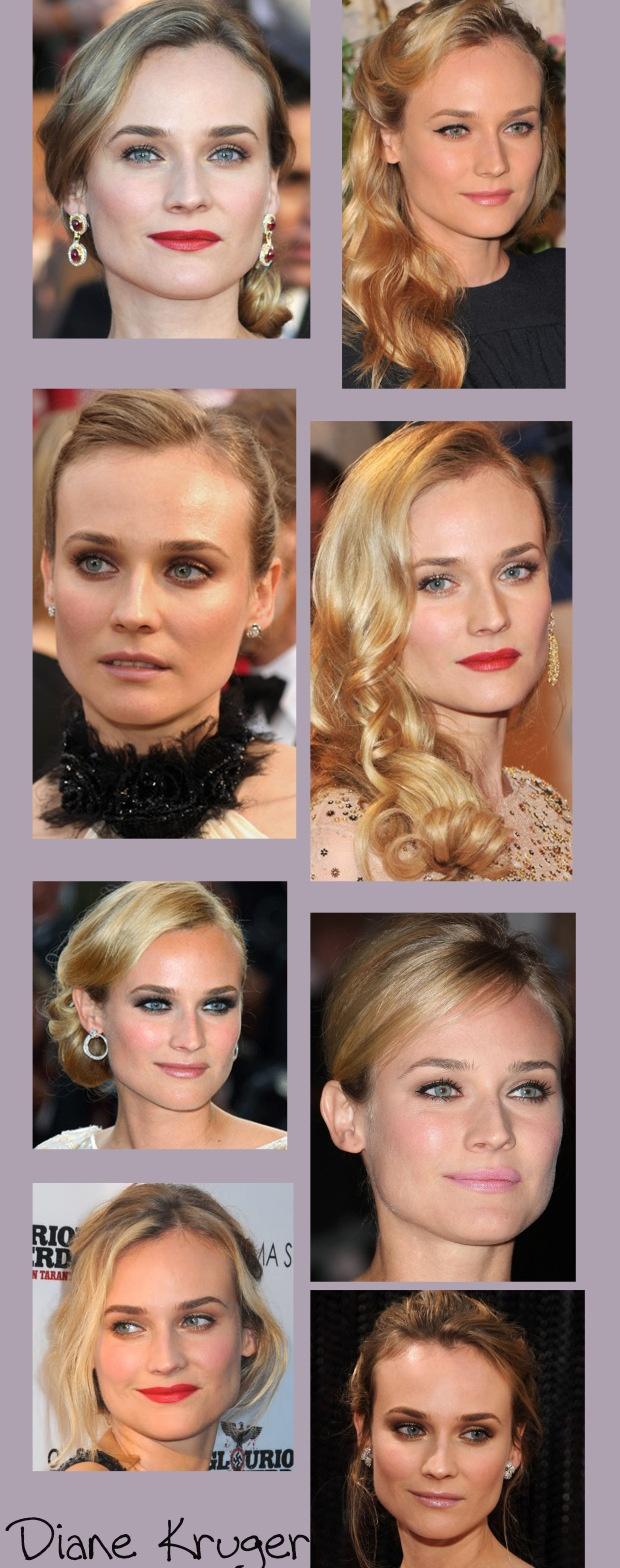 diane kruger - i always love her makeup