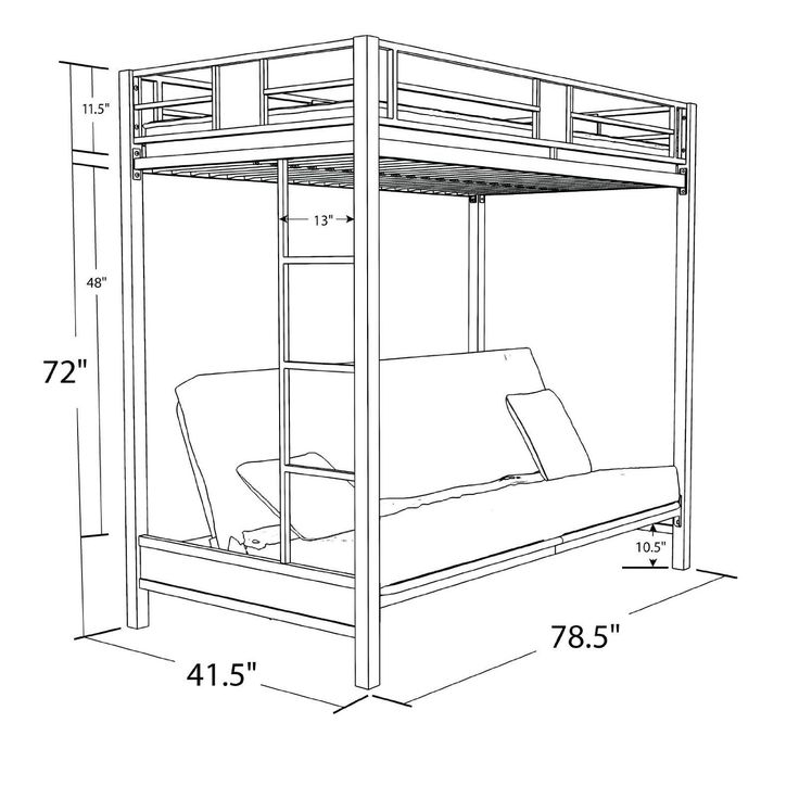 Best 17 Best Images About Loft Beds For Adults On Pinterest 640 x 480