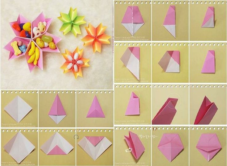 How to make paper flower dish step by step diy tutorial for Diy paper roses step by step