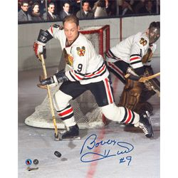 Hull,B Signed 8x10 Unframed Blackhawks-V