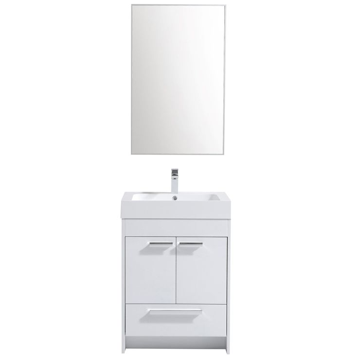 Photography Gallery Sites Eviva Lugano Modern White Wood inch Bathroom Vanity with White Acrylic Integrated Sink