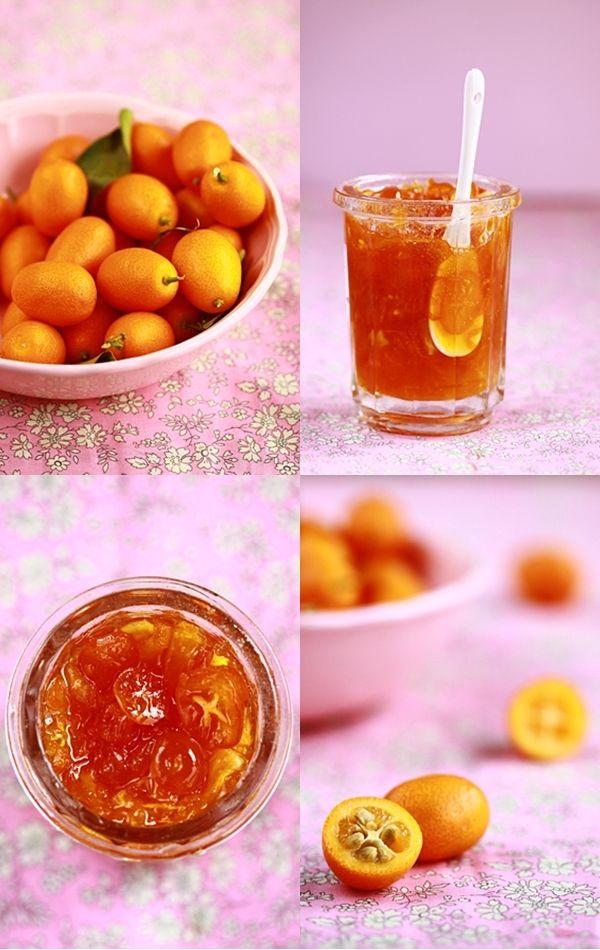 Confiture de kumquat et de potimarron