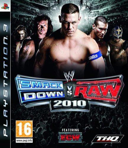 Smackdown vs. Raw 2010 en jeu PS 3 occasion pas cher   DVD-Comme-Au-Cinéma.com