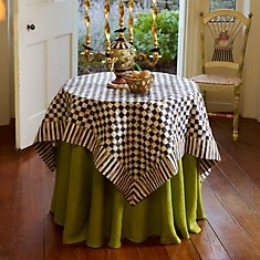 MacKenzie-Childs has long been my gold standard for personal home style. I love the whimsy and child like magic each piece brings. I own a few things, but my dream would be to have my house full of color and courtly check!