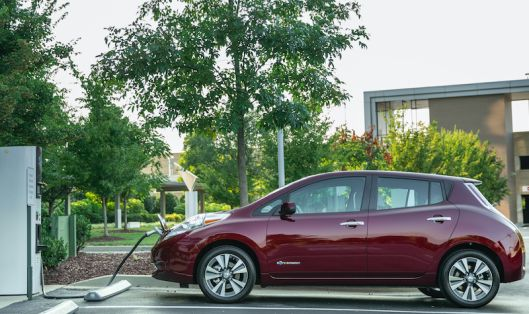 Nissan expands its free charging promotion as electric car competition from Tesla and others heats up