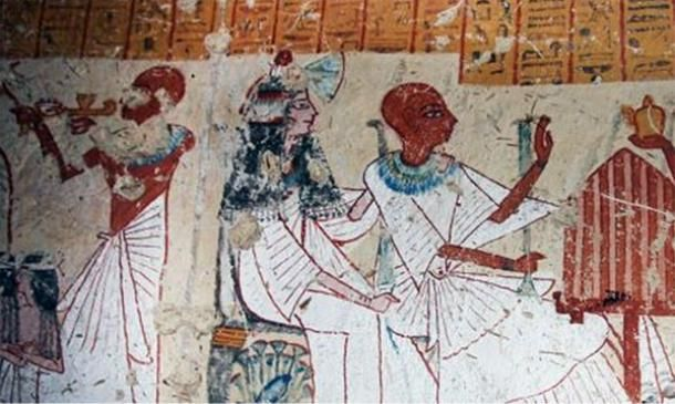 Archaeologists uncover 3,200-year-old tomb of chief beer-maker in Egypt.  A Japanese archaeological team from Waseda University have discovered the tomb of goddess Mut's head of beer production in the Egypt's famed temple city of Luxor.  The tomb, which is around 3,200-years-old, is extremely well-preserved and contains spectacular paintings depicting scenes involving the tomb's owner with his family members in front of different ancient Egyptian deities.