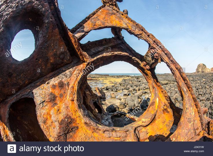 The wreck of the SS Speke at Phillip Island, Victoria, Australia Stock Photo, Royalty Free Image: 139002469 - Alamy
