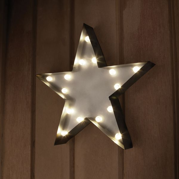 STAR Decorative LED Marquee Sign - Overstock™ Shopping - Great Deals on Accent Pieces