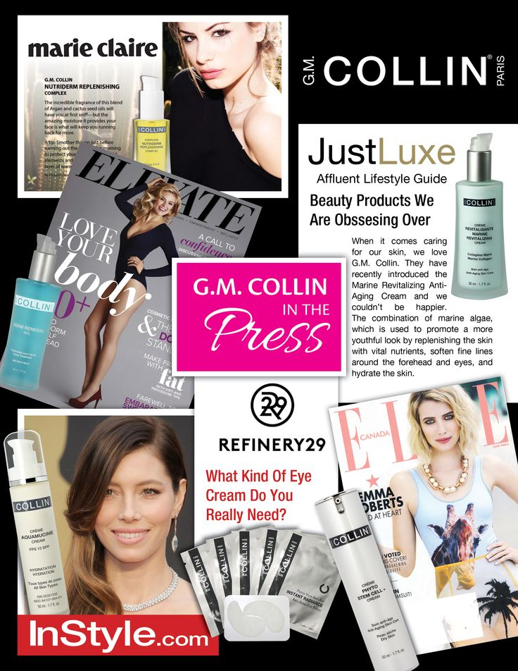 G.M. Collin in the press - June 2015 #beauty #cosmetics #skincare #spa #wellness #wellbeing #cocooning #press #pressreview #magazine #gmcollin #gmcollinparis #gmcollinskincare