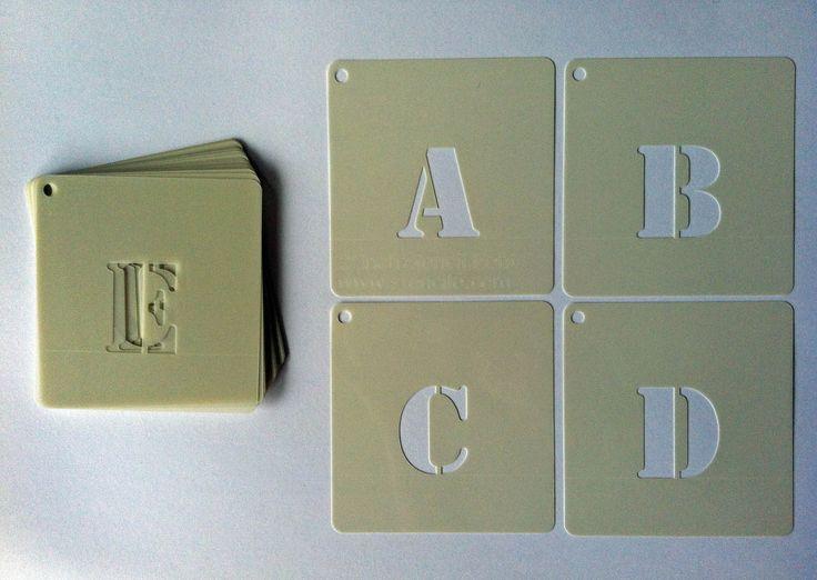 Sjablonen Letters en cijfer sets. www.sjablonenletters.nl