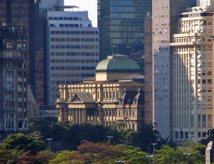 Biblioteca Nacional - National Library - Rio de Janeiro - Brazil