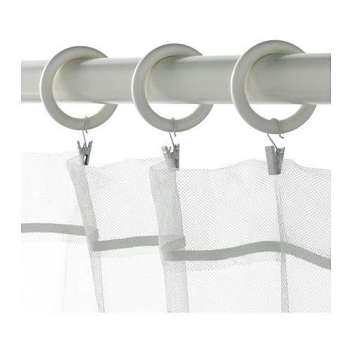 PORTION Anello per tenda con clip/gancio  - IKEA