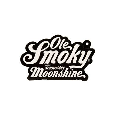 Ole smoky tennessee moonshine sticker hang tag made by cbf labels inc