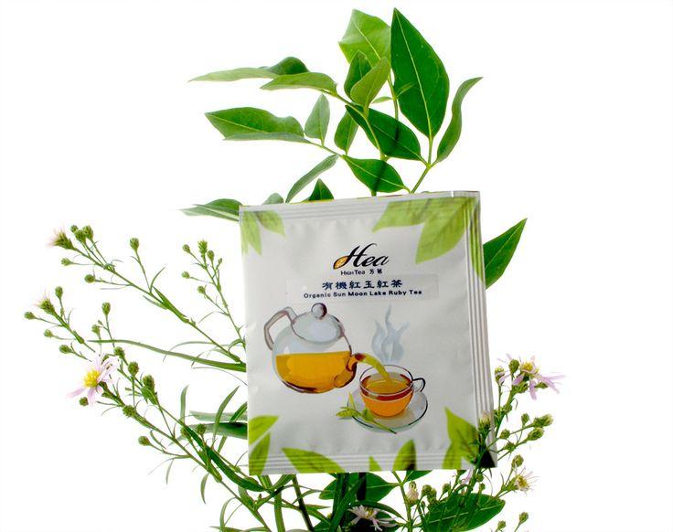 ハイティー 品味台湾シリーズ 阿里山紅玉紅茶 ティーバッグ | HiTea Sun Moon Lake Ruby Black Tea Teabag package |