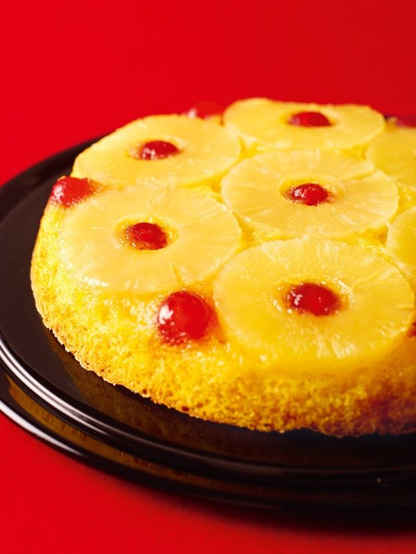 Pineapple Upside Down Cake: This is perhaps one of the most useful puddings you can have in your repertoire. Not that it is the job of a pudding to be useful: a pudding exists merely to delight. Still, dinner does need to be made, even when there's precious little time for it and that should be a delight, too. So here's the deal: there is pitifully little work to be done to make this berry-dazzler of a tart, and enormous pleasure to be derived from its consumption.