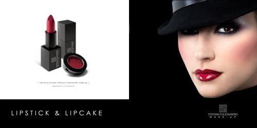 lipstick & lipcake stefania d'alessandro make-up
