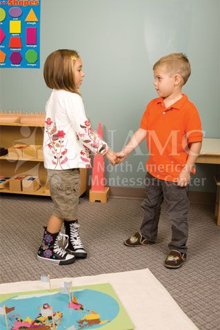 Meeting and Greeting New People - Montessori Grace and Courtesy in a Practical Life Activity