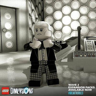 LEGO Dimensions celebra 52º aniversário de Doctor Who