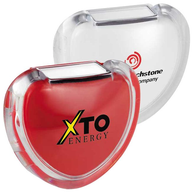 Show you care about their heart with this podometer.  Fully imprintable with your logo or message.   #MyNextPromo  #podometer  #heartshaped   #health