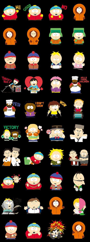 South Park Figuren Namen