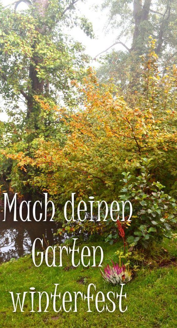 Der Garten Im Oktober Was Gibt Es Zu Tun Garten Pinterest