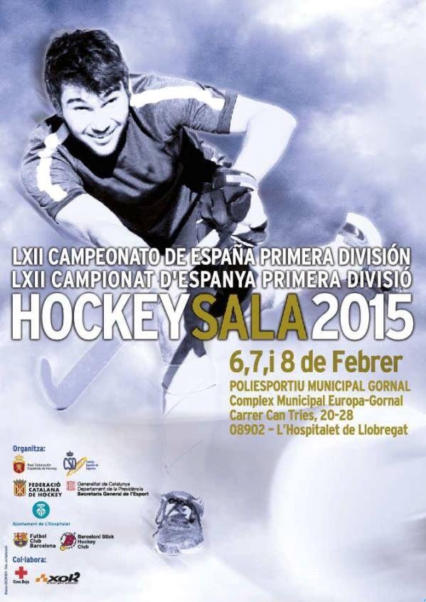 Hospitalet acogerá el LXII Campeonato de España de Primera División de Hockey Sala