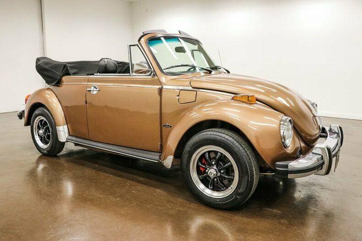 👉1978 Volkswagen Beetle  Classic   89906 Miles Bronze Convertible 1600cc 4 Speed Manual