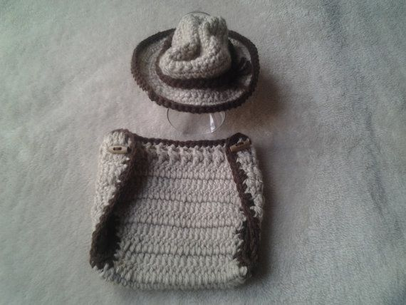 Check out this item in my Etsy shop https://www.etsy.com/uk/listing/223492677/crochet-cowboy-hat-newborn-cowboy-hat