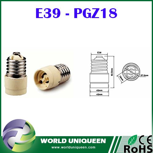 Check out this product on Alibaba.com App:E39 - PGZ18 Ceramic Lamp Holder Adapter,E39 to PGZ18 High Temperature Resistant Lamp Holder Converter / Base https://m.alibaba.com/JvMNZf