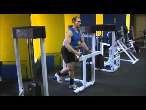 Ягодичные мышцы. Упражнения. Отведение ноги.