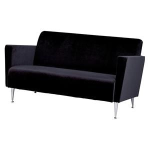 Memphis Apartment Loveseat in Black | Nebraska Furniture Mart