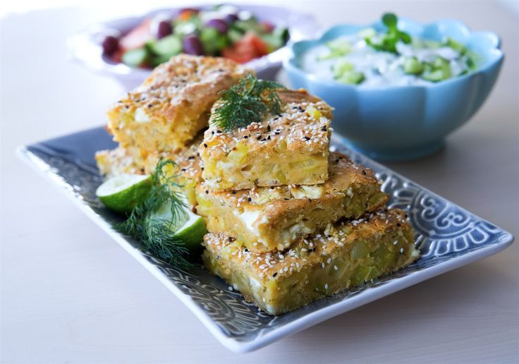 Patatesli kek- Turkisk potatiskaka