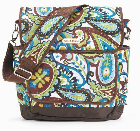 Amazon.com: timi & leslie 2 In 1 Backpack Diaper Bag, Felicity: Baby
