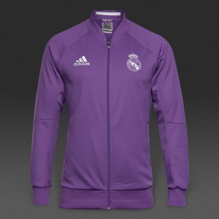Real Madrid 2016/17 Men Training Jacket-Purple