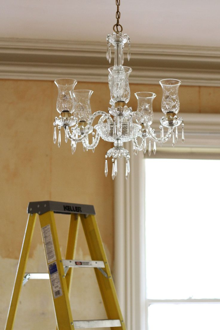 How to clean a chandelier how to clean chandelier