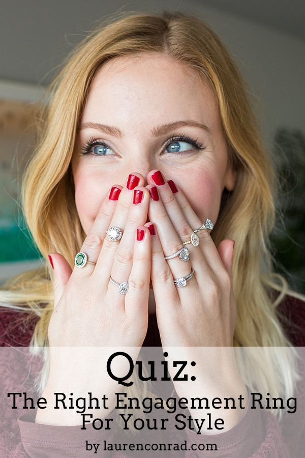 http://rubies.work/0213-ruby-rings/ Quiz: The Right Engagement Ring for Your Style on LaurenConrad.com!