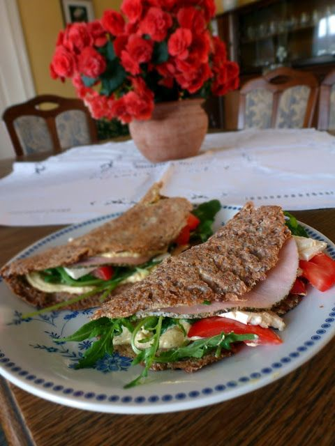 Ina Is(s)t: Low Carb Weizenkleie Wraps /// Low Carb Wheat bran wraps