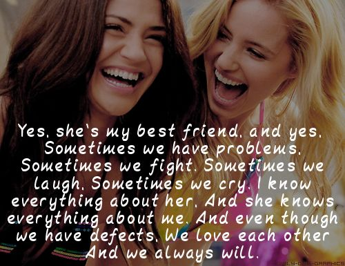 best friend quote girly girl graphics inspirational