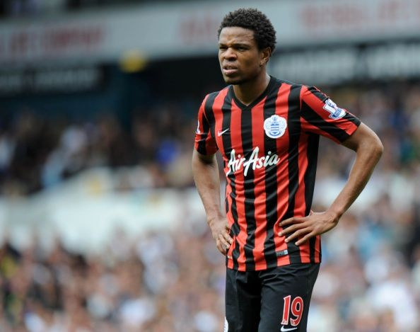 Queens Park Rangers French Striker Loic Remy Looks On During The English Premier League Football
