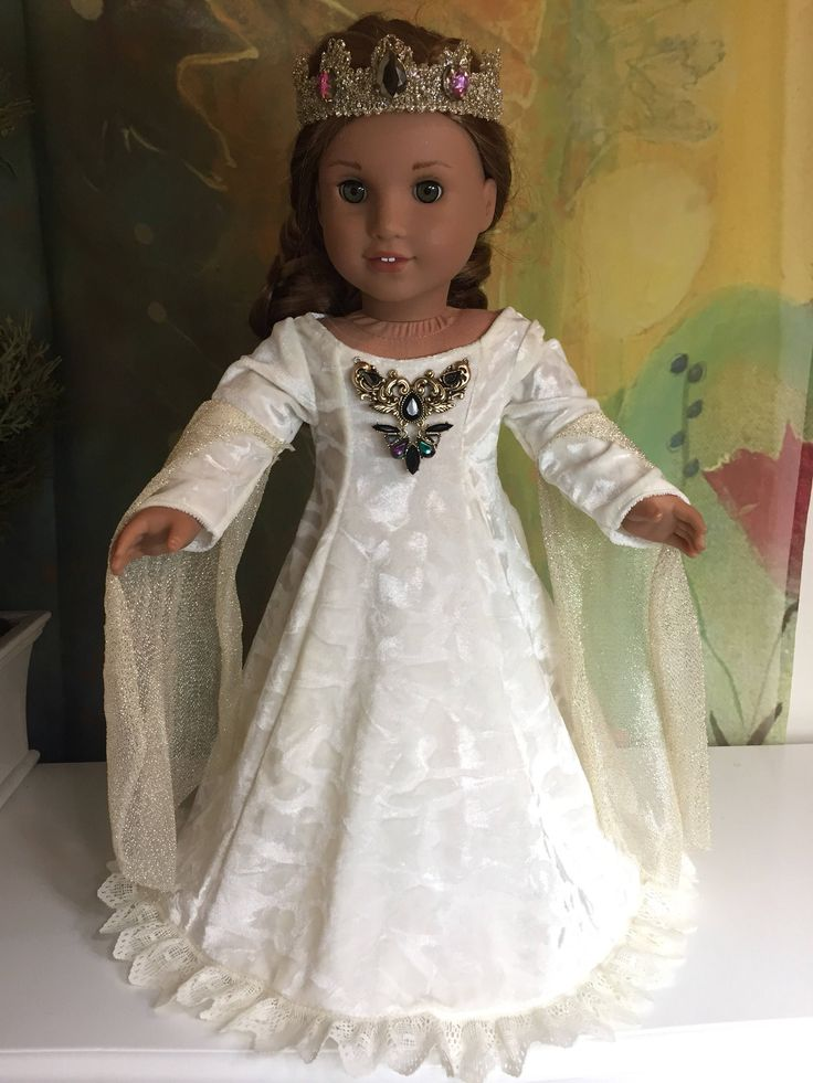 A personal favorite from my Etsy shop https://www.etsy.com/listing/268582786/american-girl-custom-ooak-medieval