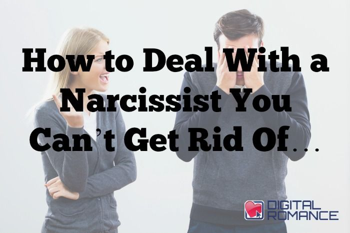 """How to Deal With a Narcissist You Can't Get Rid Of… - Check out this follow up article that Elizabeth Stone wrote to """"11 Signs You're Dating a Toxic Narcissist."""" In it she talks about to help you both build a wall against being hurt and to help you maintain your sanity during these interactions with these toxic human beings. #toxicpeople #datingproblems #dating #advice"""