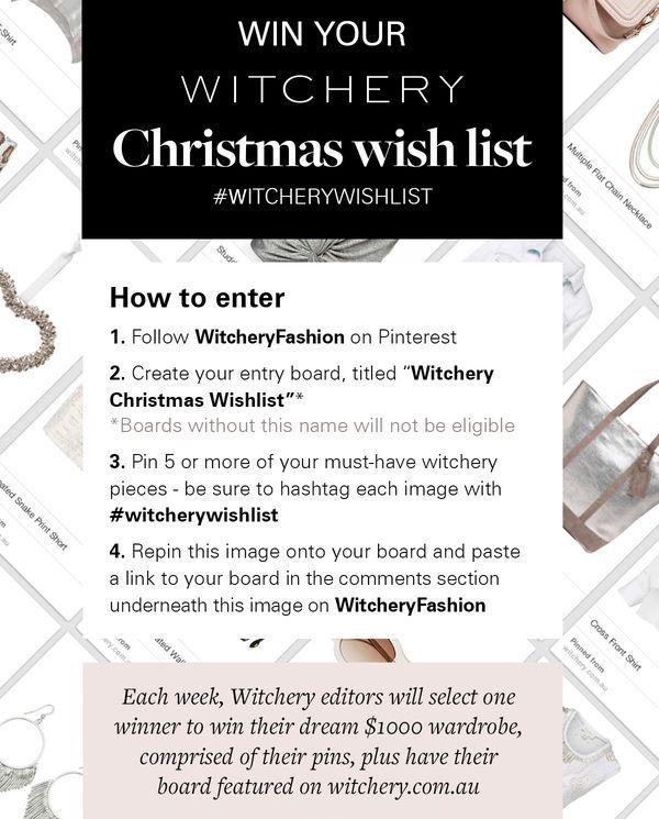 #witcherywishlist