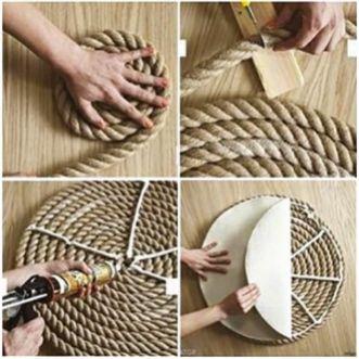 Fiches pratiques - Fabriquer un tapis de corde - Daniel Moquet - Réseau de paysagistes