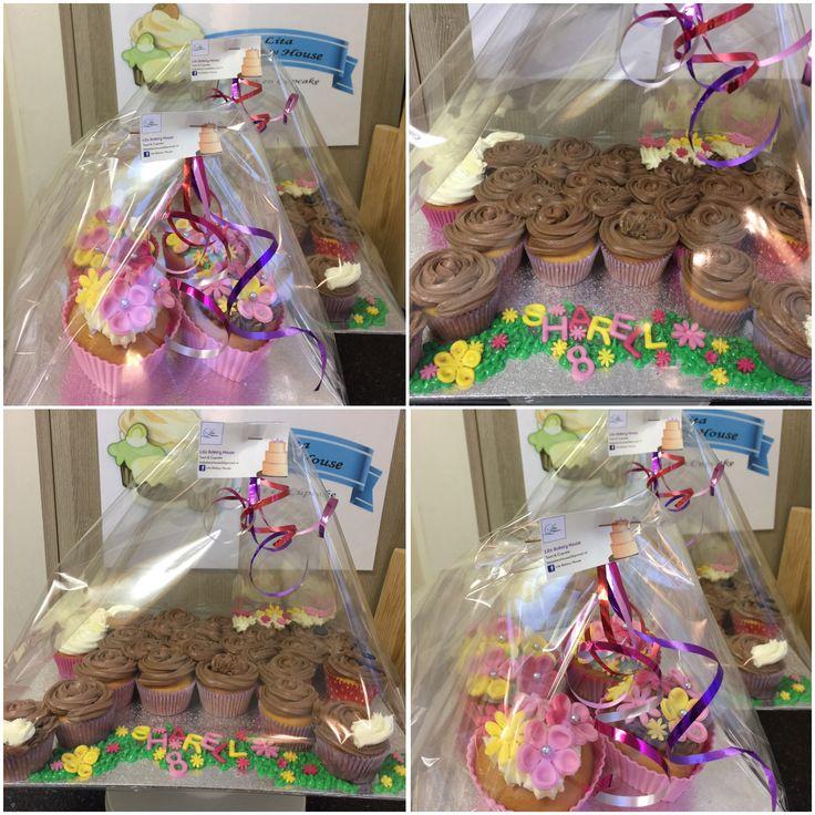Paard en bloem cupcakes 🐴🌸🌺🌻🌼💐🌷🌹🐴