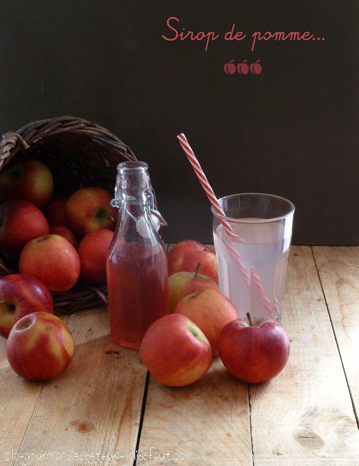Sirop de pomme {recette anti gaspi}