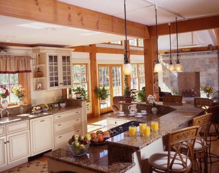 Timber Frame Kitchen Inspiration The Derkowski Home Xo